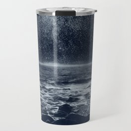 Stars and Milky Way over the Atlantic Ocean Travel Mug
