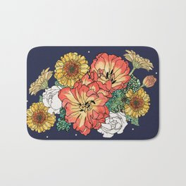 flower bouquet Bath Mat