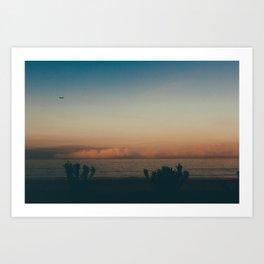 SoCal Sunrise Art Print