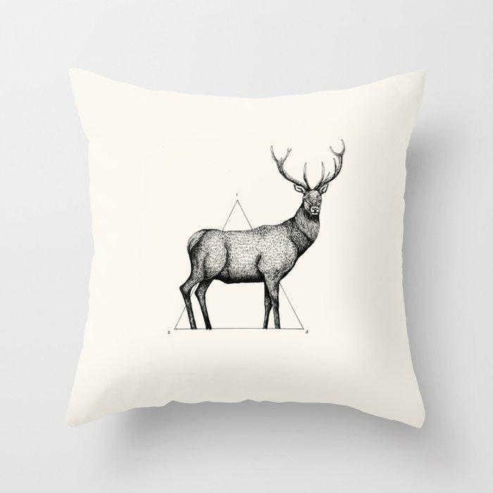 'Wildlife Analysis II' Throw Pillow