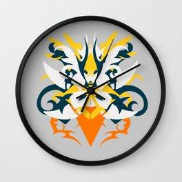 Abstraction Fourteen Hera Wall Clock