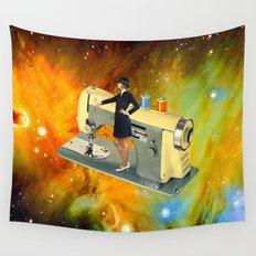 Barbara's Spaceship Wall Tapestry
