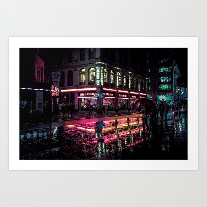 London Nights / Liam Wong Art Print