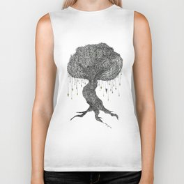 Girl In Tree Biker Tank