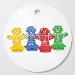 Candy Board Game Figures Cutting Board