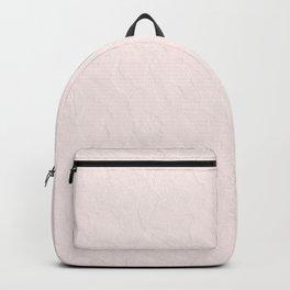 Elegant vintage blush pink french floral lace Backpack