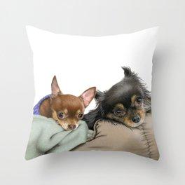 Stella And Nettie Throw Pillow