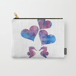 Seahorse Art Carry-All Pouch