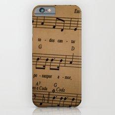 Music Tabs iPhone 6s Slim Case