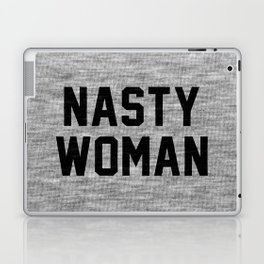 Nasty Woman - light version Laptop & iPad Skin