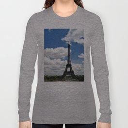Eiffel Tower in Beautiful Morning Long Sleeve T-shirt