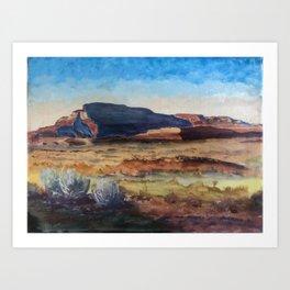 Desert after M. Dixon Art Print
