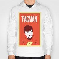pacman Hoodies featuring Pacman by Yo Jimbo