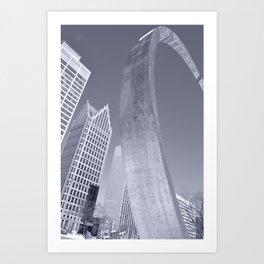 Detroit from the Hart Art Print