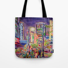 Granville At The Warehouse, Vancouver Tote Bag