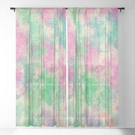 Abstract 4 Sheer Curtain