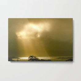 Tasmanian Sunset Metal Print