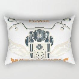 Custom motorcycle Rectangular Pillow