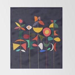 Klee's Garden Throw Blanket