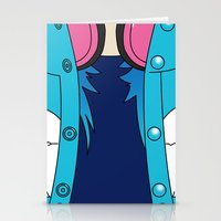 dmmd Stationery Cards featuring Aoba Seragaki Outfit DMMD by Bunny Frost