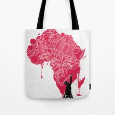 RE   Draw AFRIKA Tote Bag