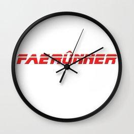 Dungeons & Dragons - FAERUNNER Wall Clock