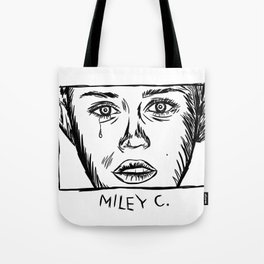 Miley C. Tote Bag
