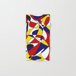 MONDRIAN AND GAUSS Hand & Bath Towel