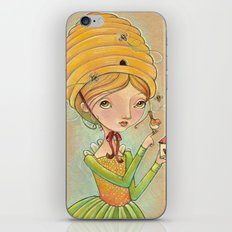 The Only Bee in My Bonnet iPhone & iPod Skin