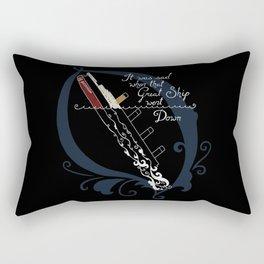 Titanic Rectangular Pillow