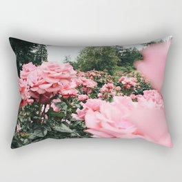 International Rose Test Garden Rectangular Pillow