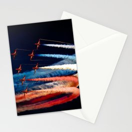 BEAUTIFUL AIRPLANE FORMATION1 Stationery Cards