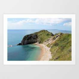 Cliff and Cove Art Print