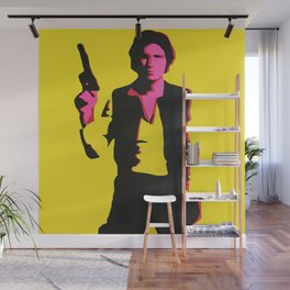 Han Solo Pop Art Wall Mural