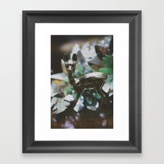 Ciervito Framed Art Print