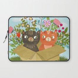 Carton Of Cute Kitties Laptop Sleeve