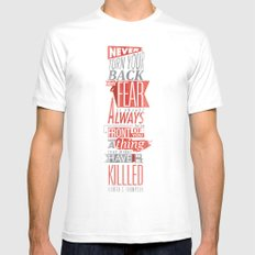 Fear Mens Fitted Tee White MEDIUM