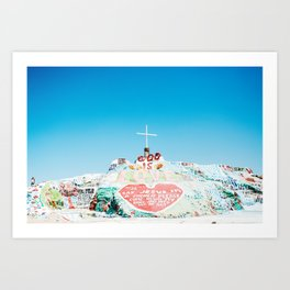 Salvation Mtn. Art Print