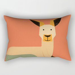 Whimsy Kangaroo Rectangular Pillow