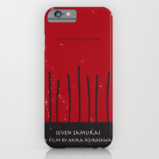 Seven Samurai iPhone & iPod Case
