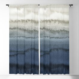 WITHIN THE TIDES - CRUSHING WAVES BLUE Blackout Curtain