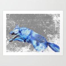 Wolf Pack Sans Pack Art Print