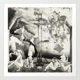 Precipice: The End of Culture Art Print