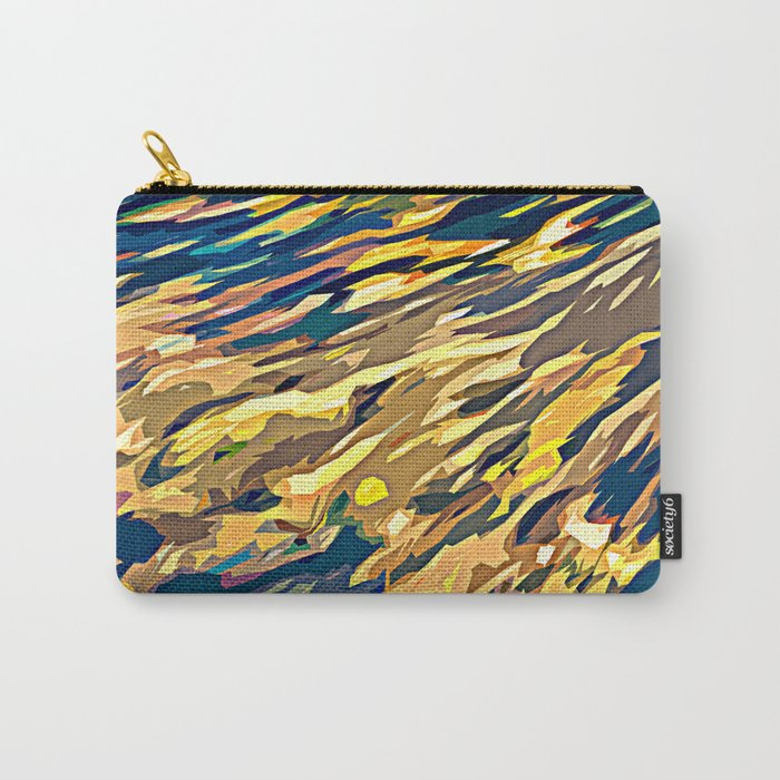 BOLD ABSTRACT Carry-All Pouch