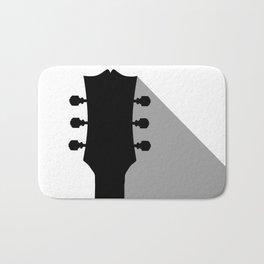 Guitar Headstock With Shadow Bath Mat