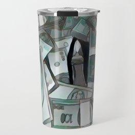 Counterfeit ice Travel Mug