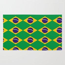 flag of brazil 2-Brazil, flag, flag of brazil, brazilian, bresil, bresilien, Brasil, Rio, Sao Paulo Rug