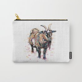 Inky Goat Carry-All Pouch