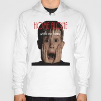 home alone Hoodies featuring Home Alone by Darius Malone