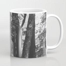 Black and White Trees Coffee Mug